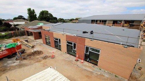 Melbourne City Mission West Refuge construction site